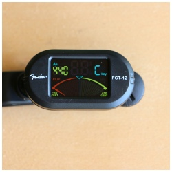 Fender FCT 12 Clip On Tuner